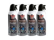 4 pk Falcon Compressed Air Computer TV Gas Cans Duster 10 oz Dust Off Laptop Keyboard