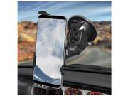 Amzer 180 Degree Rotating pivoting arms and a 360 Degree rotating Head Suction Cup Mount for Windshield, Dash or Console Black For Samsung Galaxy S8 Plus 9SIA17P5PY9661