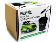 Plugable USB Charger 3 Port 36W Vehicle Cup Holder USB C3C