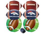 Denver Broncos NFL Mylar Foil Balloons Super Bowl Party Pack - 7pc Balloon Kit