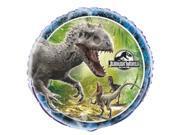 "Unique Jurassic World Dinosaurs Party 18"" Foil Balloon"