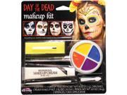 Fun World The Colorful Class Clowns Multicolor 8pc Makeup Kit 9SIA2Y24SH3164