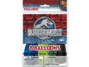 """Unique Jurassic World Dinosaurs Party 8 Pack 12"""""""" Latex Balloons"""" 9SIA2Y23UM2867"""