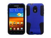 Dark Blue / Black Astronoot Protector Case Cover for Samsung D710 (Epic 4G Touch) / R760 (Galaxy S II)