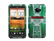 White Celtic Cross Ring (2D Silver) Protector Case Cover for HTC EVO 4G LTE