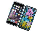 Apple iPhone 6 plus 5.5 inch Hard Case Cover - Colorful Fireworks 2D Glossy