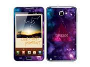 Samsung Galaxy Note N7000 I717 I9220 Vinyl Decal Sticker - Triangle Dream