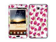 Samsung Galaxy Note N7000 I717 I9220 Vinyl Decal Sticker - Tulip Pattern