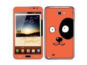 Samsung Galaxy Note N7000 I717 I9220 Vinyl Decal Sticker - The Dog With One Black Eye