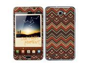 Samsung Galaxy Note N7000 I717 I9220 Vinyl Decal Sticker - Cloth Wool Aztec Patterns