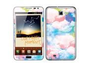 Samsung Galaxy Note N7000 I717 I9220 Vinyl Decal Sticker - Colorful Summer Sky