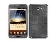 Samsung Galaxy Note N7000 I717 I9220 Vinyl Decal Sticker - Metal  Tread Plates
