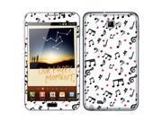 Samsung Galaxy Note N7000 I717 I9220 Vinyl Decal Sticker - Love Music