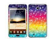Samsung Galaxy Note N7000 I717 I9220 Vinyl Decal Sticker - Love Multicolor Music