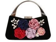 KAXIDY Ladies Elegant Floral Clutches Evening Bag Purses Clutch Bag Wedding Purse Party Bags (9SIA2ZR71X1875 KS71538) photo