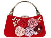 KAXIDY Ladies Elegant Floral Clutches Evening Bag Purses Clutch Bag Wedding Purse Party Bags (9SIA2ZR71X1877 KS71540) photo