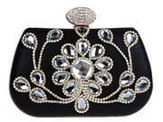 KAXIDY Femininity Luxury Rhinestones Evening Clutch Purse Handbag Wedding Purse Pary Bags (9SIA2ZR7267992 KS71325) photo
