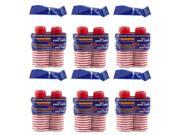 Goodtimes 2oz Mini Red Party Cups, 120ct 9SIA30M1VZ6371