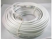 50FT 50 FT RJ45 CAT5 CAT5E Ethernet LAN Network Cable WHITE