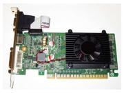 1GB Single Slot PCI Express PCI-E x16 DVI+HDMI+VGA Video Graphics Card with Fan