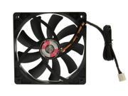Slip Stream 120mm DB PWM Dual Ball Bearing Fan, 4Pin PWM