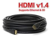 25FT HDMI Cable Cord Audio Wire Bluray DVD XBOX PS 3 4 Wii U