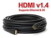 25FT HDMI Cable Cord Audio Wire Bluray DVD XBOX PS 3 4 Wii U