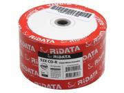50-Pack 52X White Inkjet HUB Printable Blank CDR CD-R Disc Storage Media