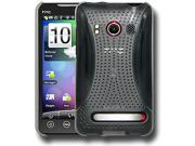Perforated Retro Sports Click On Case for HTC EVO 4G - Clear
