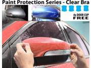 Perfect Fit PreCut Sheets Paint Protection Clear Bra Film Kit (Mirrors Only) for 2016 Hyundai Santa Fe Sport