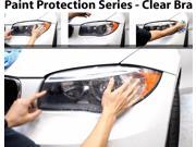 Perfect Fit Headlight PreCut Sheets Paint Protection Clear Bra Film Kit for 2006-2012 Lexus GS