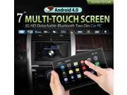 XTRONS Android 4.0 In Dash 2 DIN Car Stereo DVD GPS Player Radio Navigation 7