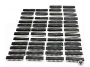 50 x BLANK through-hole chips ATMEGA328P-PU 32KB 20MHz max (16MHz default) 1KB EEPROM 2KB SRAM Atmel chip used in the Arduino Uno, and Versalino Uno. Just remember you will need to bootload it.