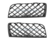 NEW 06-09 Chevy Trailblazer Grill Grille Fog Lamp Cover Left Right Side PAIR SET