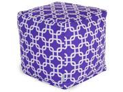Purple Links Small Cube
