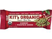 Clif Kit's Organic Fruit and Seed: Cherry Pumpkin Seed, Box of 12