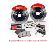 StopTech Big Brake Kit 83.827.002G.51 Black Rear 345x28mm Fits:SCION 2013 - 201