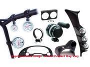 "Auto Meter 12239 Triple Gauge Pillar Black 2-1/16"" (52.4mm) Fits:DODGE 2007 - 2"