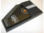 Oscar Schmidt 1930's Reissue Original Design Autoharp, 21 Chord, Black, OS73C