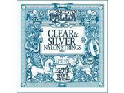 Ernie Ball Ernesto Palla Clear & Silver Classical Guitar Nylon Strings, P02403