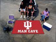 Fanmats Indiana University Hoosiers Man Cave UltiMat Rug 5'x8'