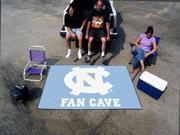 Fanmats North Carolina UNC Tar Heels Fan Cave UltiMat Rug 5'x8'