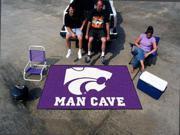 Fanmats Kansas State University Wildcats Man Cave UltiMat Rug 5'x8'