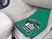 Northeastern State University 2-piece Carpeted Car Mats 18