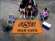 Fanmats Oklahoma State University Cowboys Man Cave UltiMat Rug 5'x8'