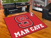 Fanmats North Carolina State University Wolfpack Man Cave All-Star Mat