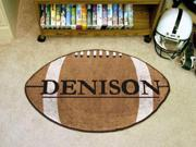 Denison Football Rug 22