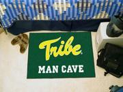 """Fanmats College of William & Mary Tribe Man Cave Starter Rug 19""""x30"""""""