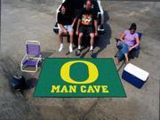 Fanmats University of Oregon Ducks Man Cave UltiMat Rug 5'x8'