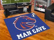 "Fanmats Boise State Univeristy Bulldogs Man Cave All-Star Mat 33.75""x42.5"""